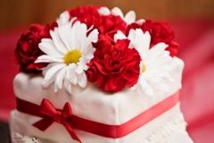 Floral Cake Arrangement