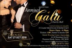 Gala Ball Flyer